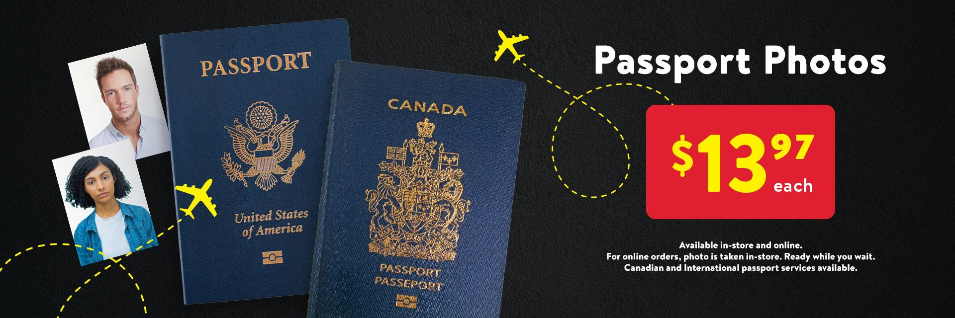 walmart, walmart photo centre, passport photo