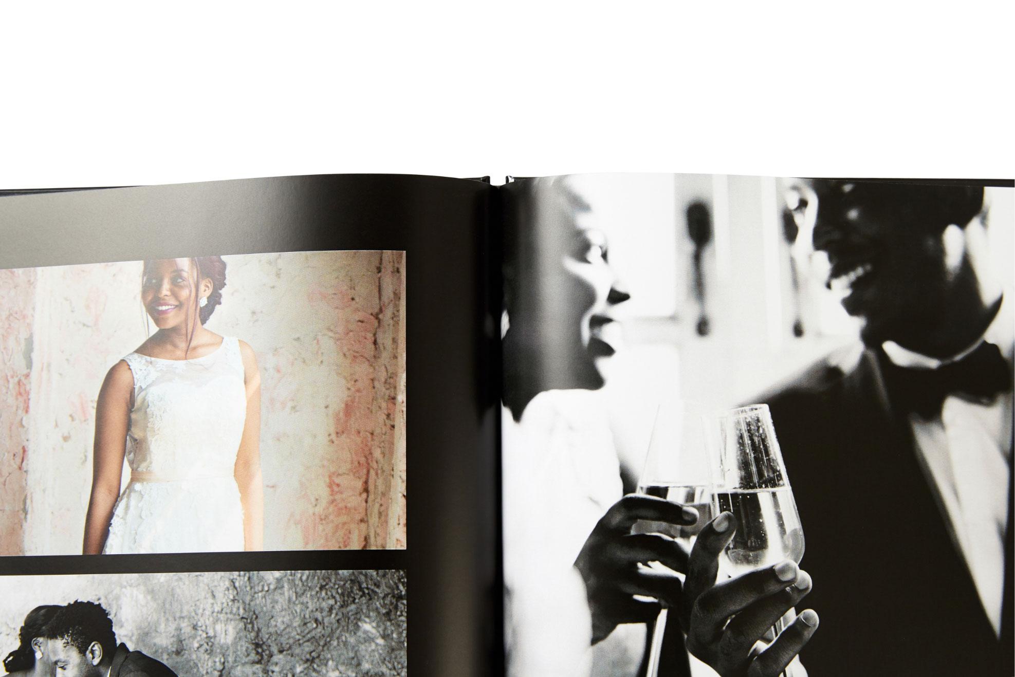 Albums photo à couverture rigide personnalisée
