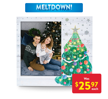 6x8 LED Christmas Tree Frame