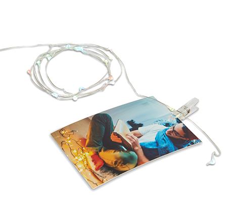 Guirlande lumineuse à DEL pour photos de 4 x 3po