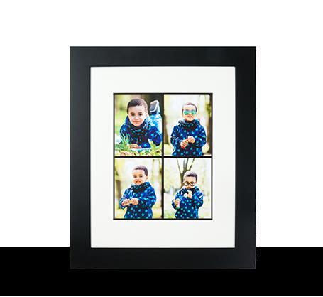 11x14 Framed Print - Black