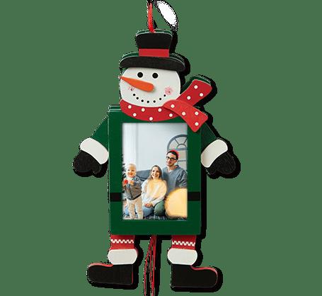 Décoration Bonhomme de neige avec tirette