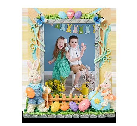 5x7 Easter Egg Frame