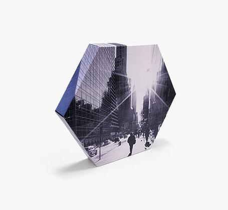 Photo sur toile hexagonale