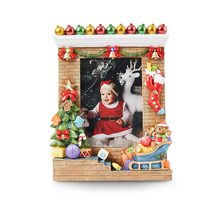 Cadre de Noël à DEL de 5 x 7 po