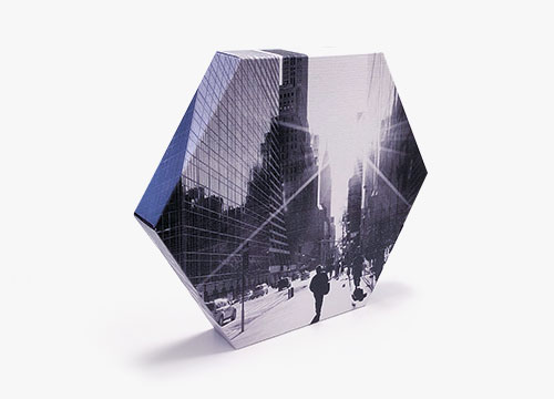 Photo sur toile hexagonale
