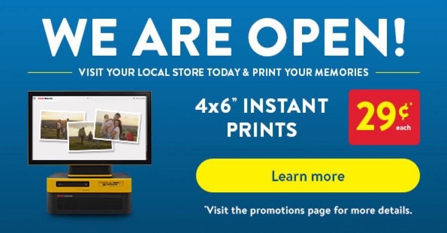 Walmart Photo Centre