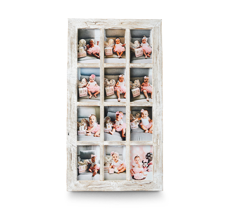 4x6 White Rustic Frame (12)