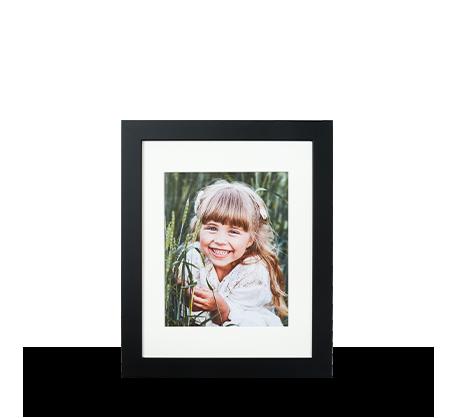 8x10 Framed Print - Black