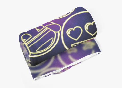 emoji Fleece Blanket
