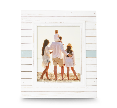 8x10 Horizontal Stripe Frame