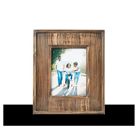 Cadre à panneau de bois 6 x 8 po