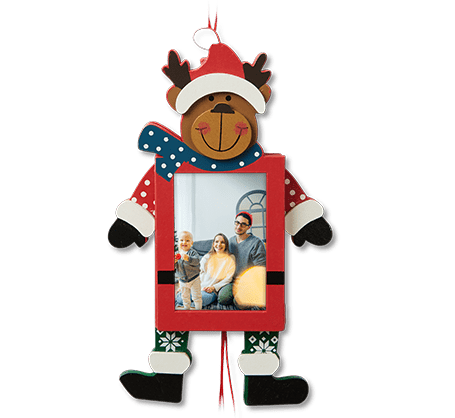 Reindeer Pull Ornament