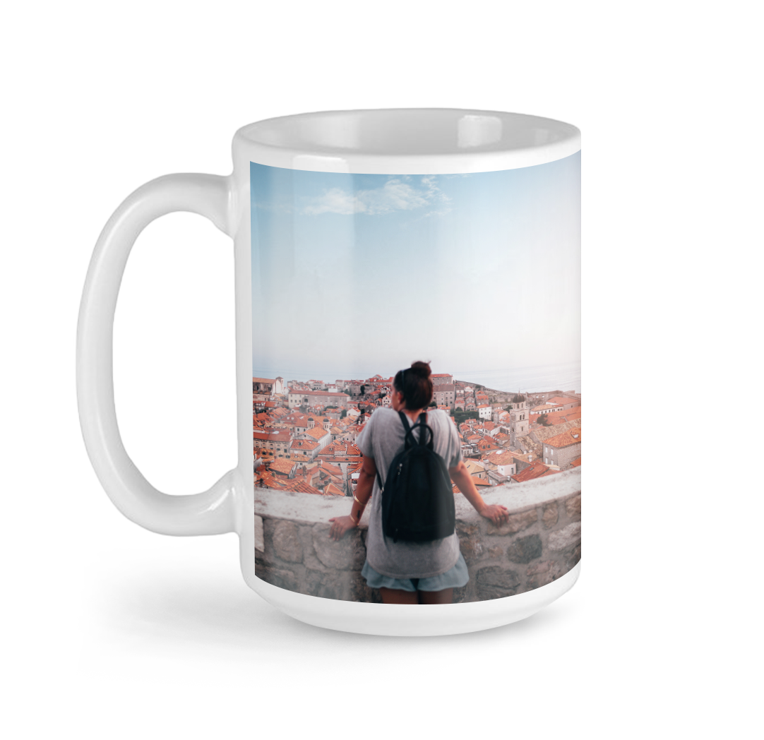 Tasses avec photo de 15 oz