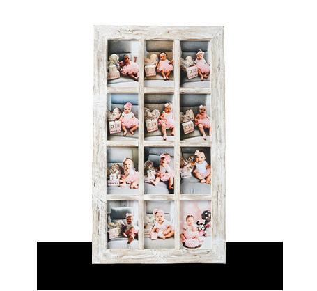 4x6 White Rustic Frame (12)