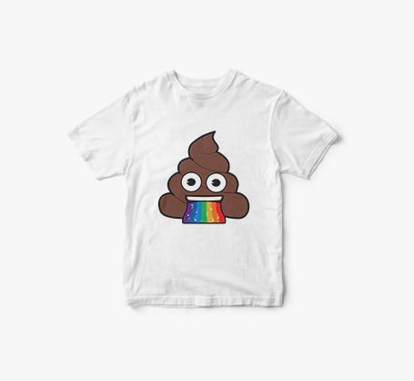 T-shirts personnalisés avec emojis