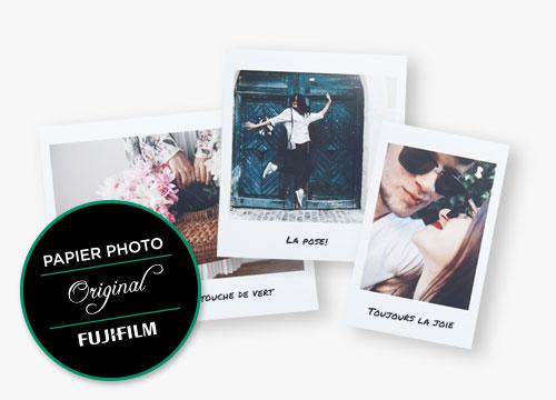 Impressions rétro Fujifilm