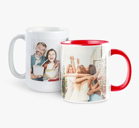 Tasses avec photo