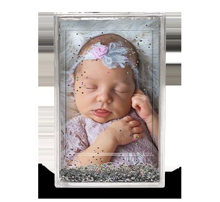 2.25x3.5 Glitter Frame