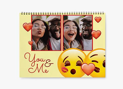 emoji Wall Calendar