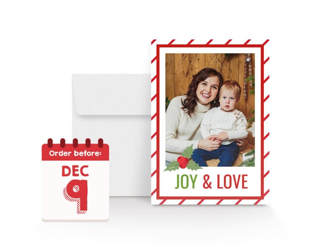 Walmart Photo Centre   5x7 Flat Cards
