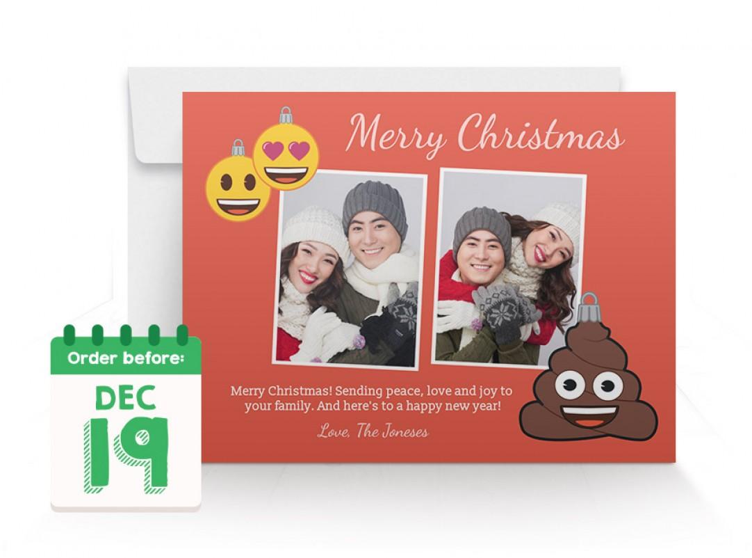Walmart Photo Centre | 6x8 emoji Express Cards
