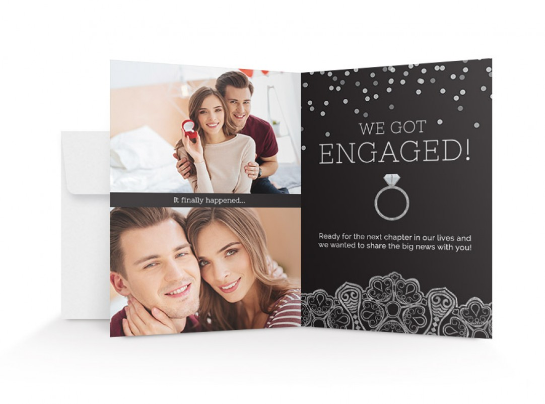 Walmart photo centre 5x7 folded cards 5x7 folded announcements reheart Gallery