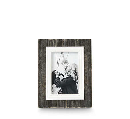 4x6 Black Rustic Frame