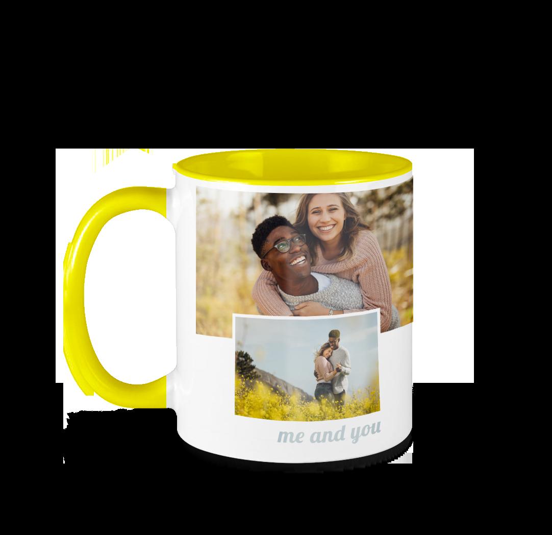11oz. Photo Mug - Yellow